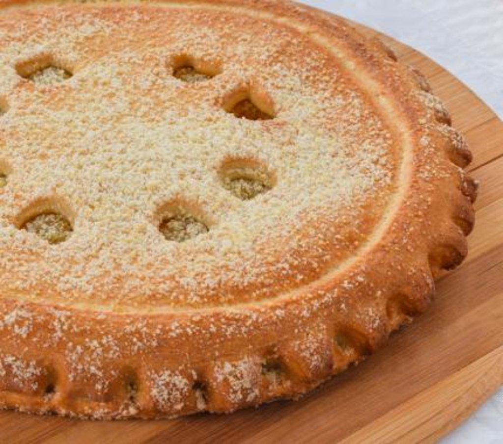 Сладкие: Пирог с Заварным кремом и кокосом в Царевы Пироги
