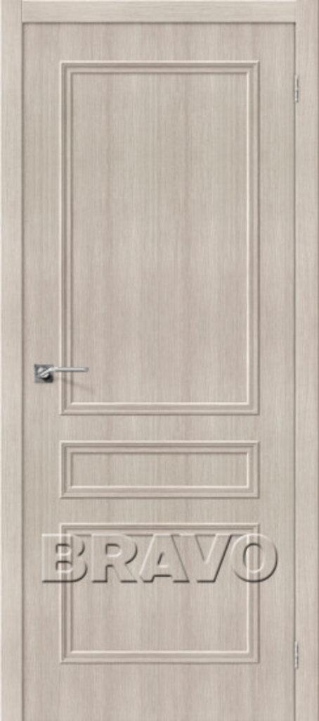 Двери экошпон BRAVO Classico: Классико-22 Cappuccino Veralinga в STEKLOMASTER
