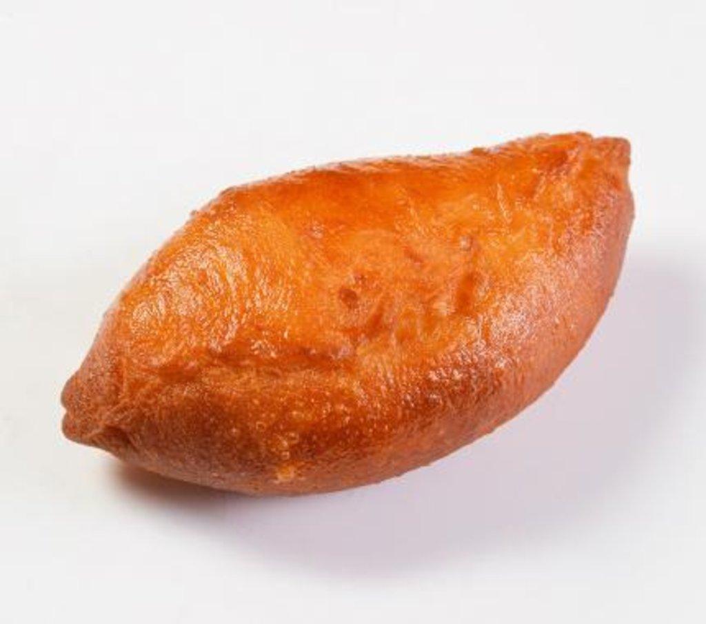Восточные блюда: Пирожок печеный с печенью и яйцом в Царевы Пироги