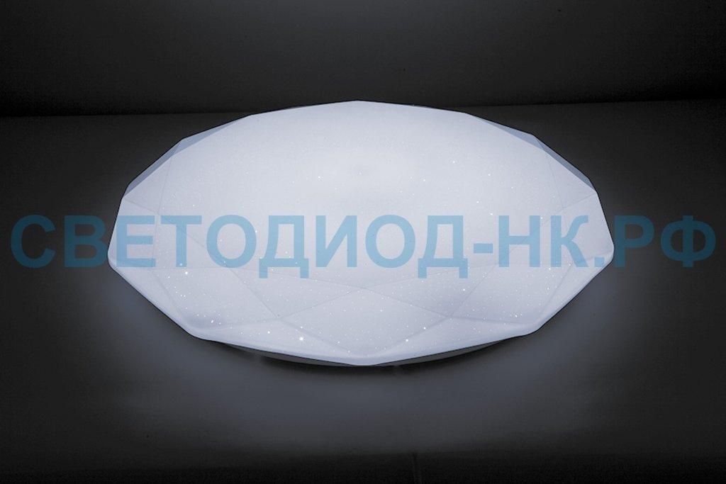 Управляемые светильники-люстры: Светодиодный управляемый светильник накладной Feron AL5200 тарелка 60W 3000К-6500K белый в СВЕТОВОД