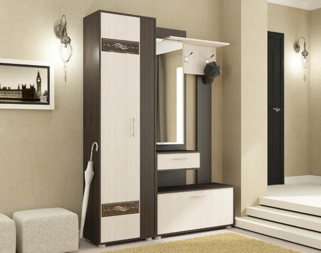 Мебель для прихожей модульная серия Инфинити: Шкаф-Пенал Инфинити в Уютный дом