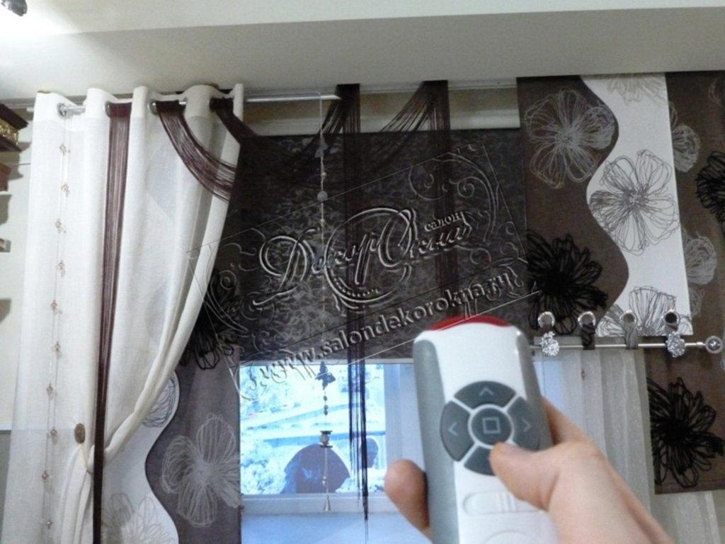 Рулонные шторы: Рулонные шторы автоматические в Декор окна, салон