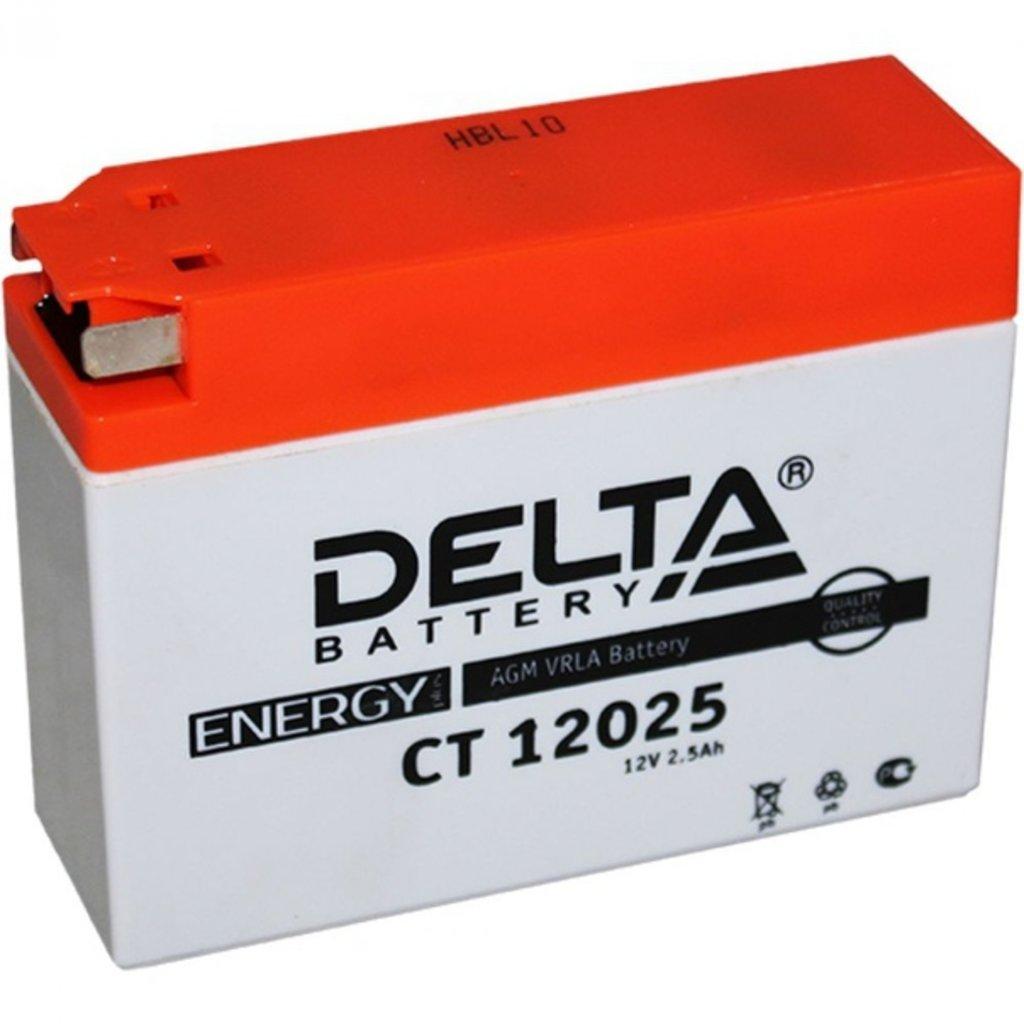 Delta: DELTA CT 12025 2.5 Ah в БазаАКБ