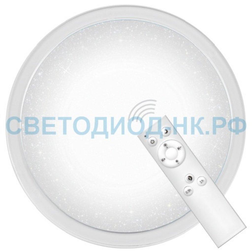 Управляемые светильники-люстры: Светодиодный управляемый светильник накладной Feron AL5000 тарелка 60W 3000К-6500K белый с кантом в СВЕТОВОД