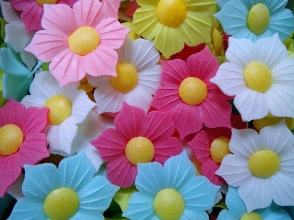 Сырье для пищевой промышленности: Вафельные цветы в Русский пекарь, ТК, ООО