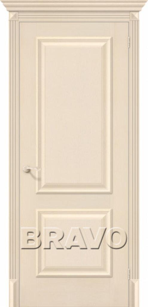 Двери экошпон BRAVO Classico: Классико-12 Ivory в STEKLOMASTER