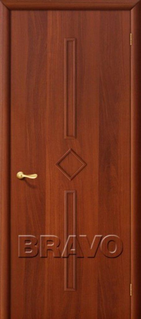 Двери ламинированные BRAVO: 9Г Л-11 (ИталОрех) в STEKLOMASTER