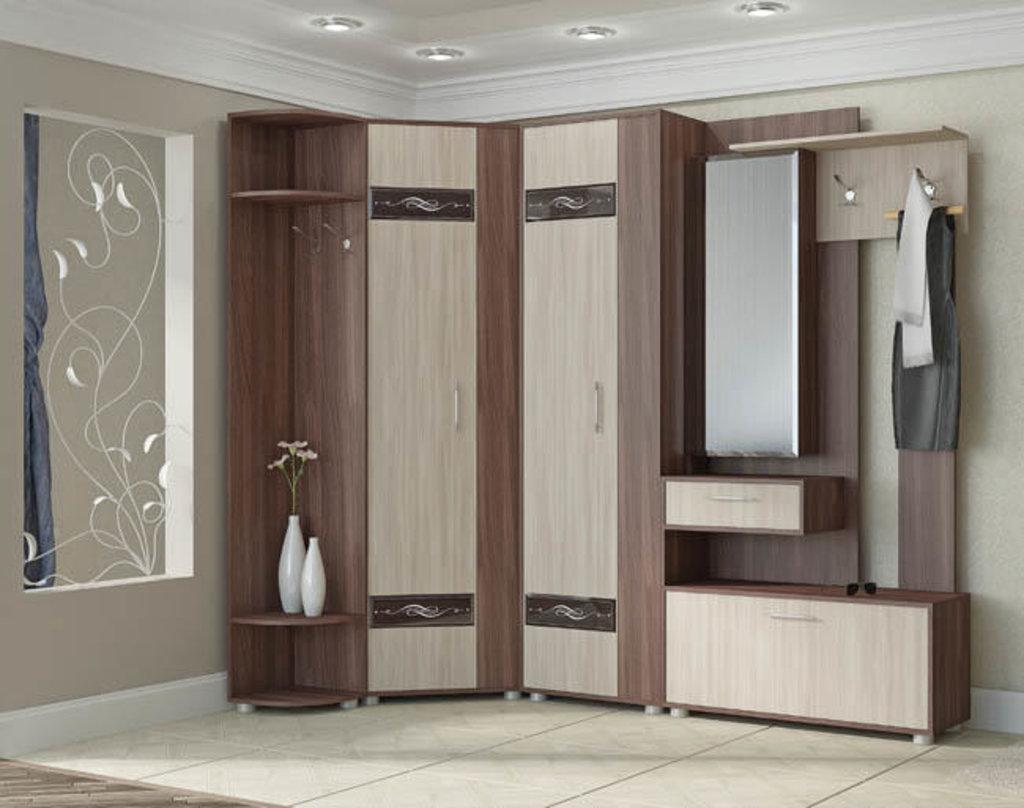 Мебель для прихожей модульная серия Инфинити: Шкаф угловой Инфинити в Уютный дом