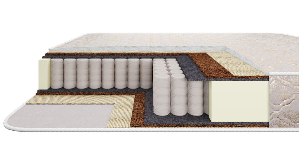 Матрасы: Матрас СОФТ, 90 см, жаккард в Стильная мебель