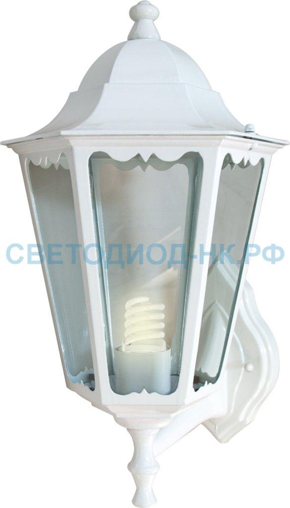 Садово-парковые светильники: 6101 60W 230V E27 170*200*320мм белый в СВЕТОВОД