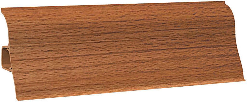 Плинтуса напольные: Плинтус напольный Ecoline 129 бук красный в Мир Потолков