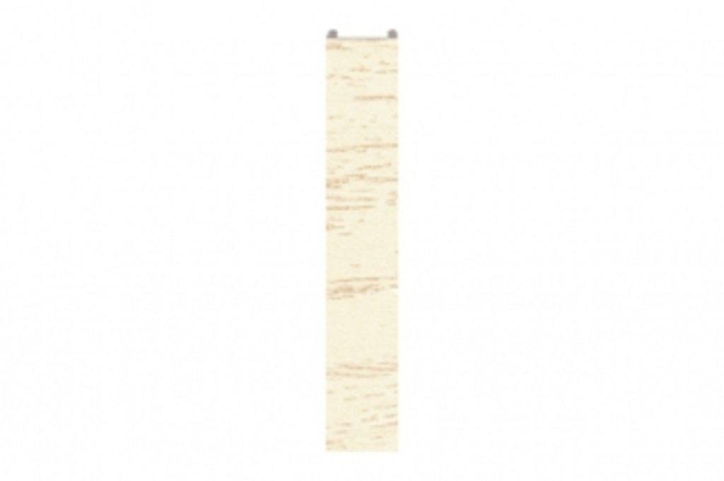 Цоколь ПВХ покрытый декоративной бумагой: 0114 Торцевая заглушка для цоколя ПВХ, L=4000, Позитано в МебельСтрой