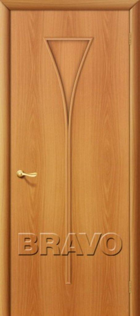 Двери ламинированные BRAVO: 3Г Л-12 (МиланОрех) в STEKLOMASTER