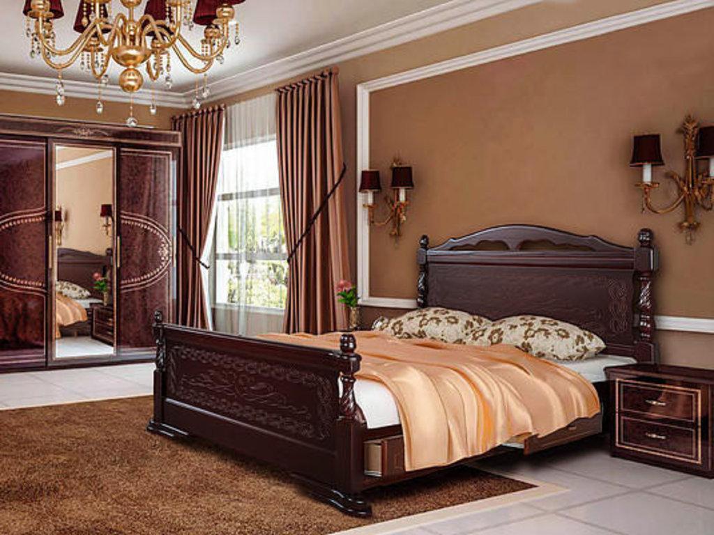 Кровати: Кровать Анастасия в Золотая рыбка