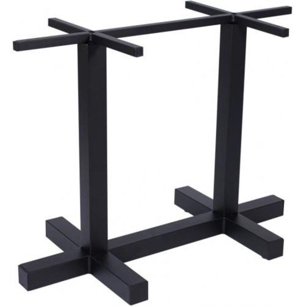 Подстолье, опоры: Подстолье 01 R-9 (металлик, чёрный) в АРТ-МЕБЕЛЬ НН