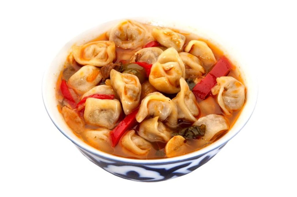 Вторые блюда: Чучвара в Папа-Лаваш, шаурма-центр