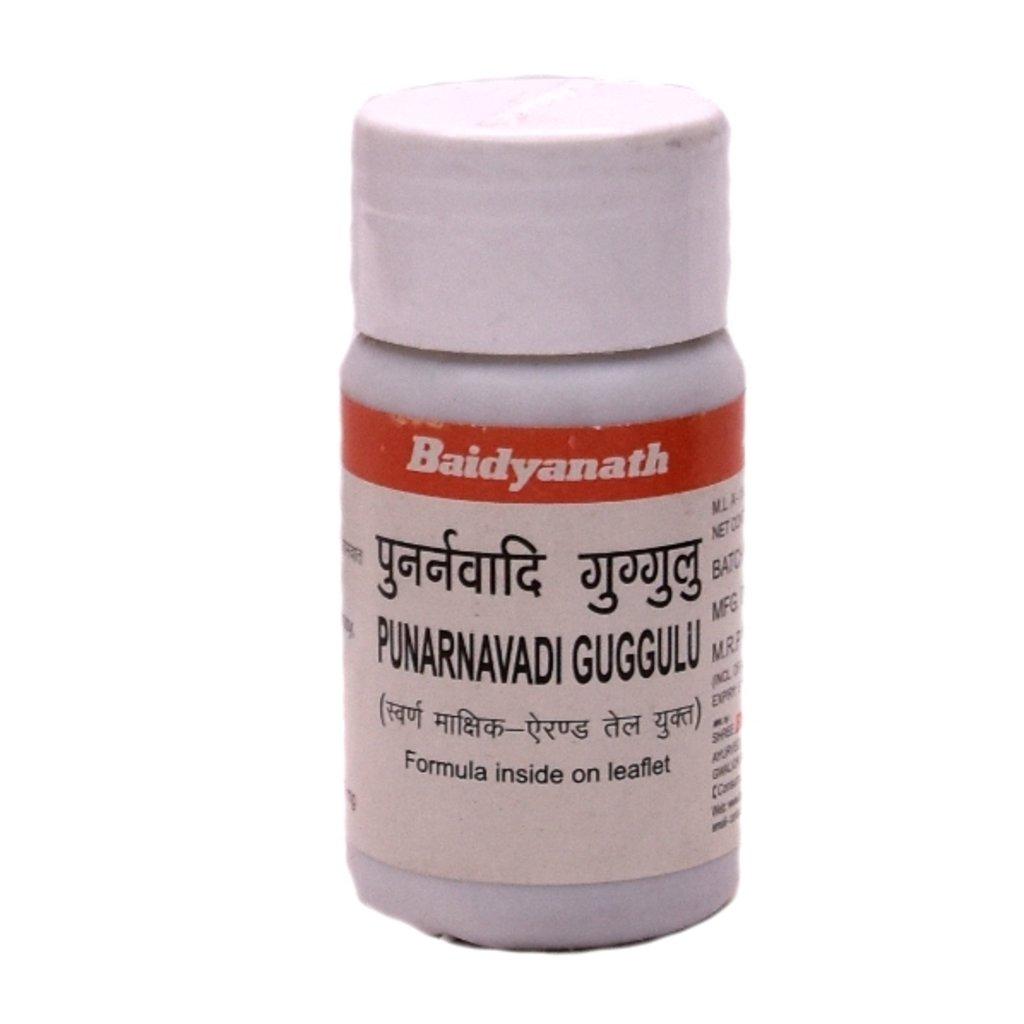 БАДы: Punarnavadi Guggulu - 80 tab в Шамбала, индийская лавка