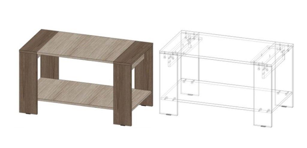 Столы: Журнальный стол №11 в Диван Плюс