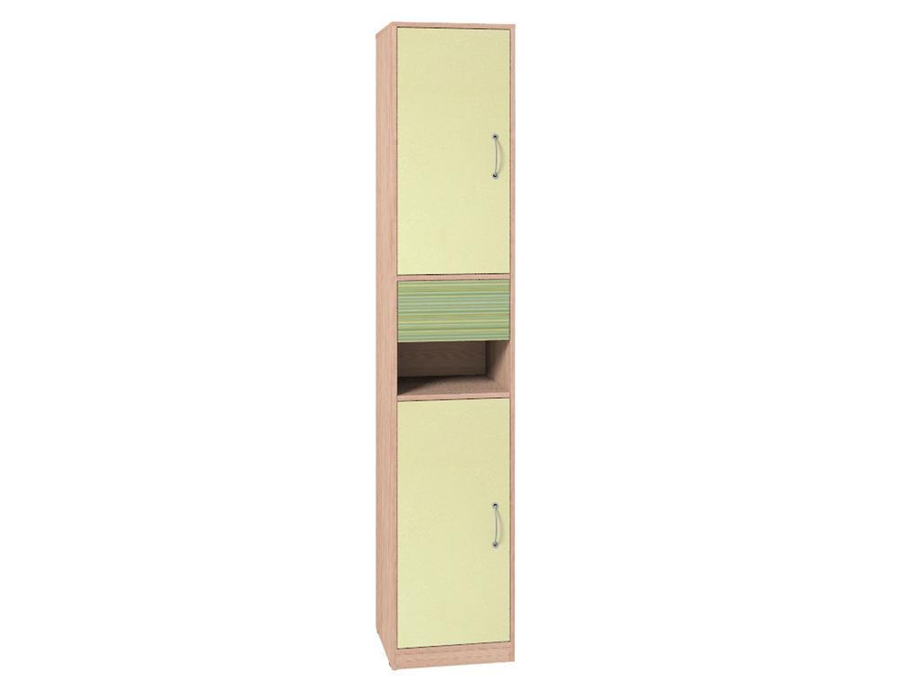 Детские шкафы и стеллажи: Шкаф МЦН 8 Калейдоскоп в Стильная мебель