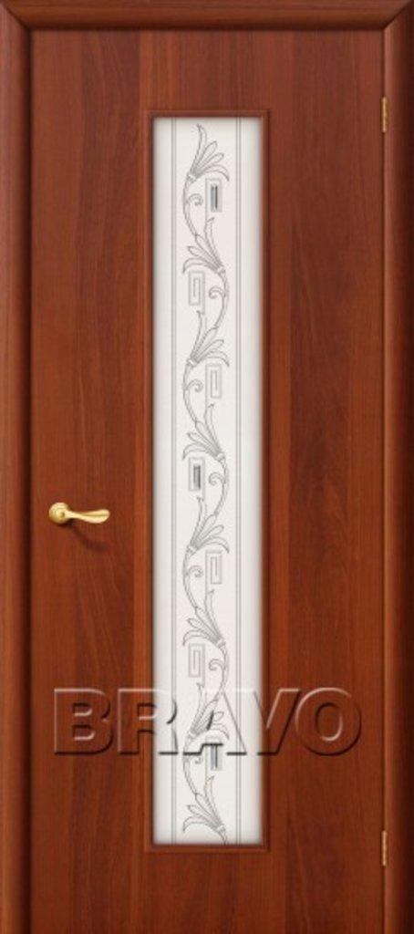 Двери ламинированные BRAVO: 24Х Л-11 (ИталОрех) в STEKLOMASTER