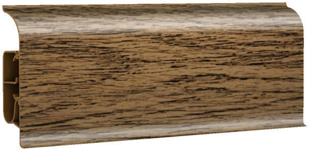 Плинтуса напольные: Плинтус напольный 85 глянцевый 85103 дуб бурбон в Мир Потолков