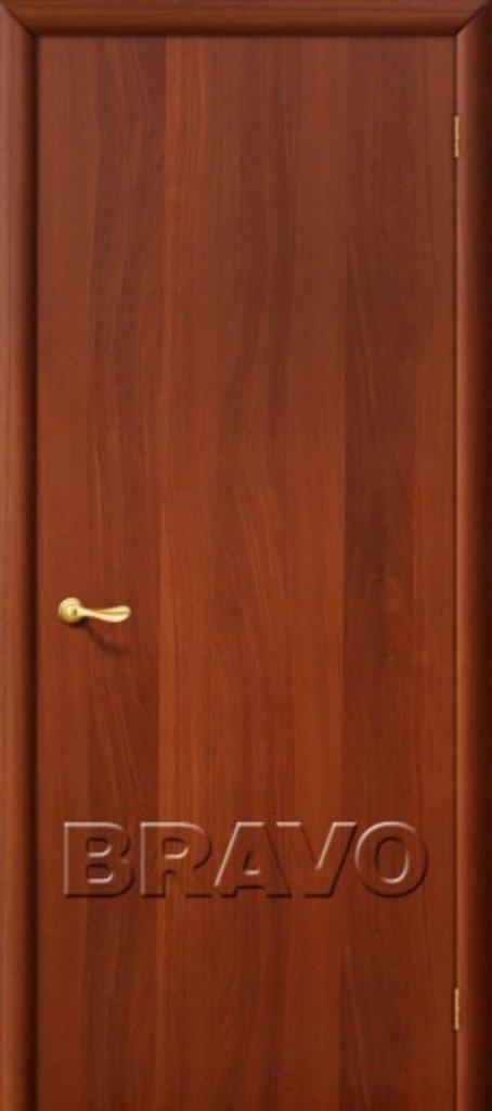 Двери ламинированные BRAVO: Гост Л-11 (ИталОрех) в STEKLOMASTER