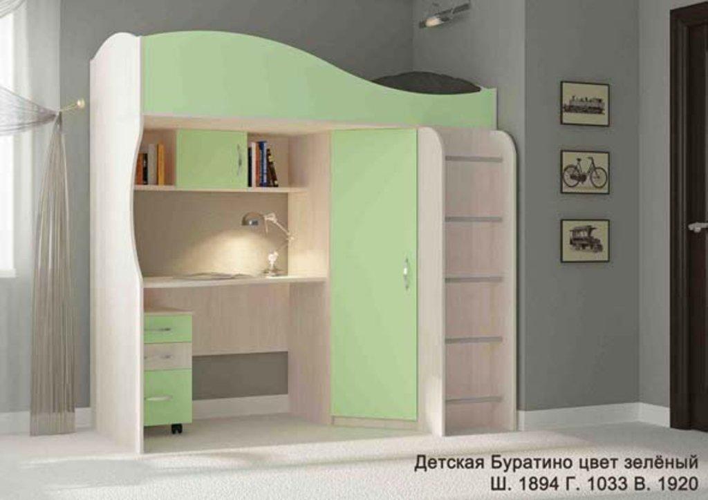 Детские и подростковые кровати: Детская Буратино в Стильная мебель