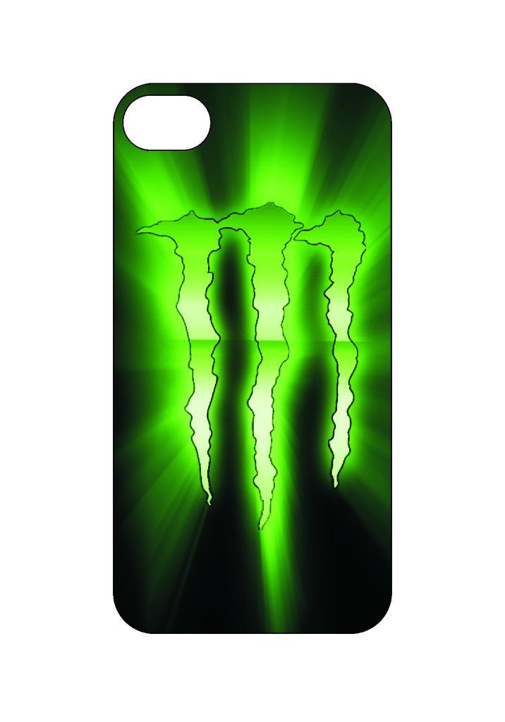Выбери готовый дизайн для своей модели телефона: Monsterenergy в NeoPlastic