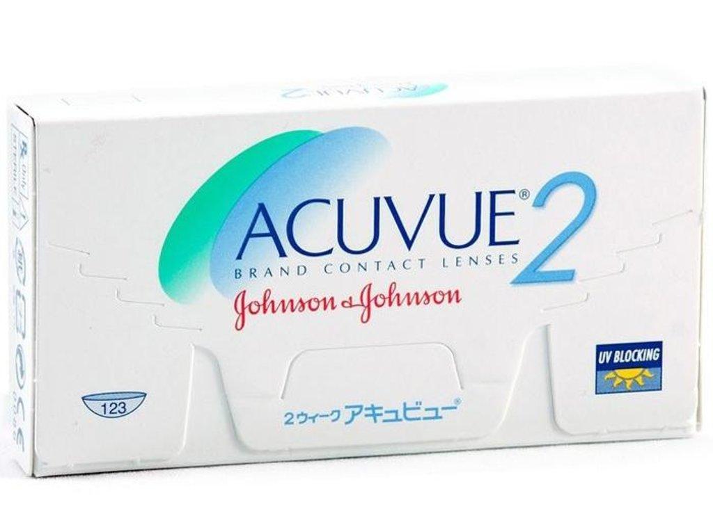 Контактные линзы: Контактные линзы Acuvue 2 (6шт / 8.3) Johnson & Johnson в Лорнет