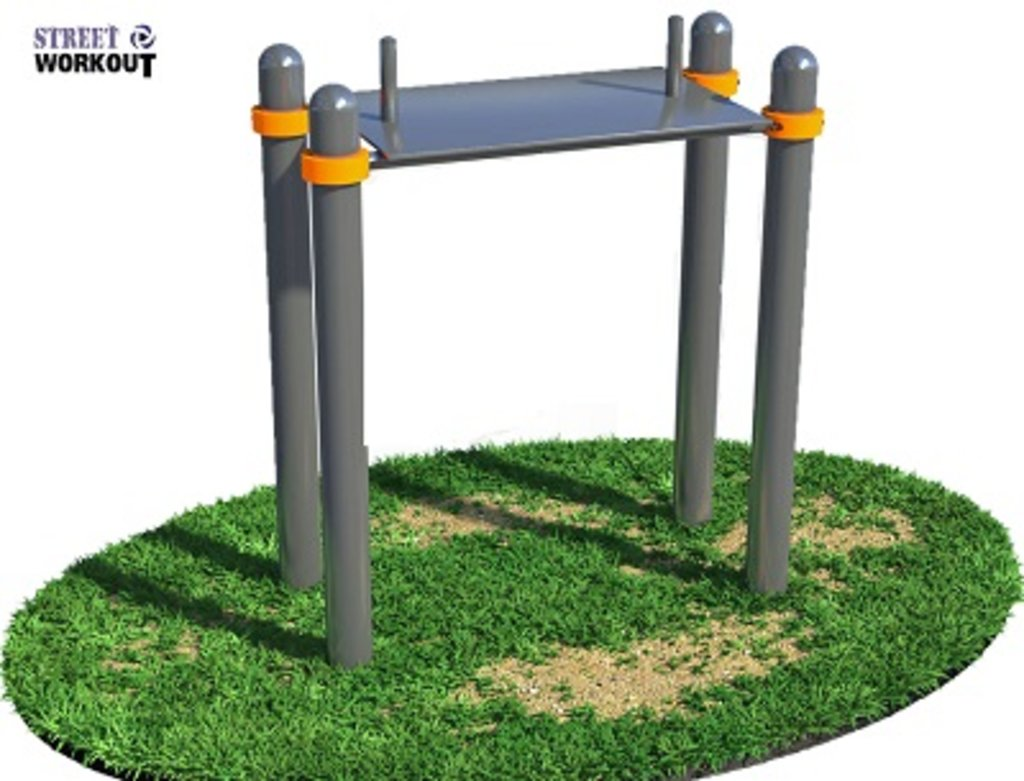 Уличные тренажеры: Спортивное оборудование для WorkOut в Детские игровые площадки и мягкие модули