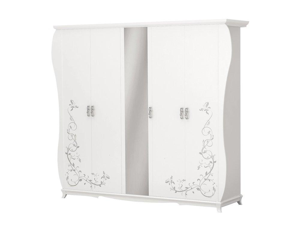 Шкафы для спальни: Шкаф 5-дверный Стелла в Стильная мебель