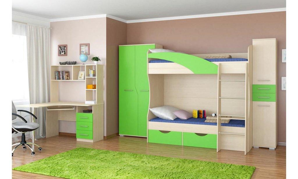 Спальный гарнитур Радуга: Шкаф для белья ШР-1 Радуга в Уютный дом