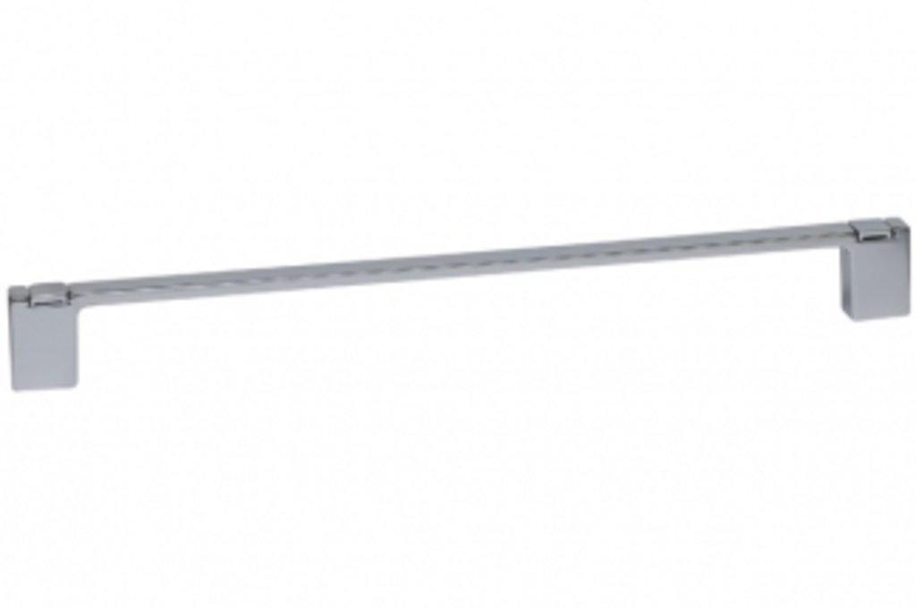 Коллекция МОДЕРН: Ручка-скоба 320мм с крючками, отделка хром глянец в МебельСтрой