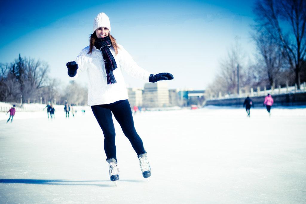 Спортивный зимний отдых: Коньки в Seventh Heaven