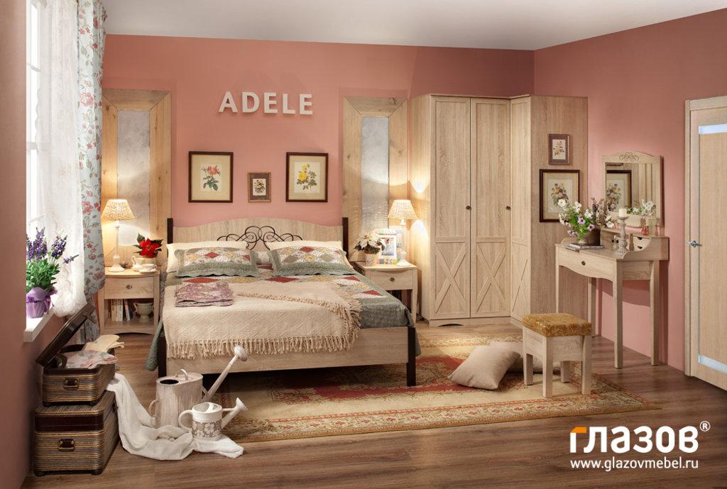 Кровати: Кровать (1400) ADELE 3 в Стильная мебель