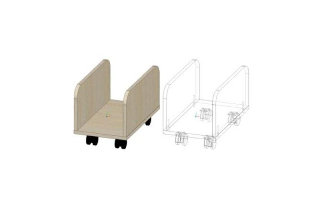Компоненты товара Стол компьютерный Лик-4: Подставка под ПК Лик-4 в Диван Плюс