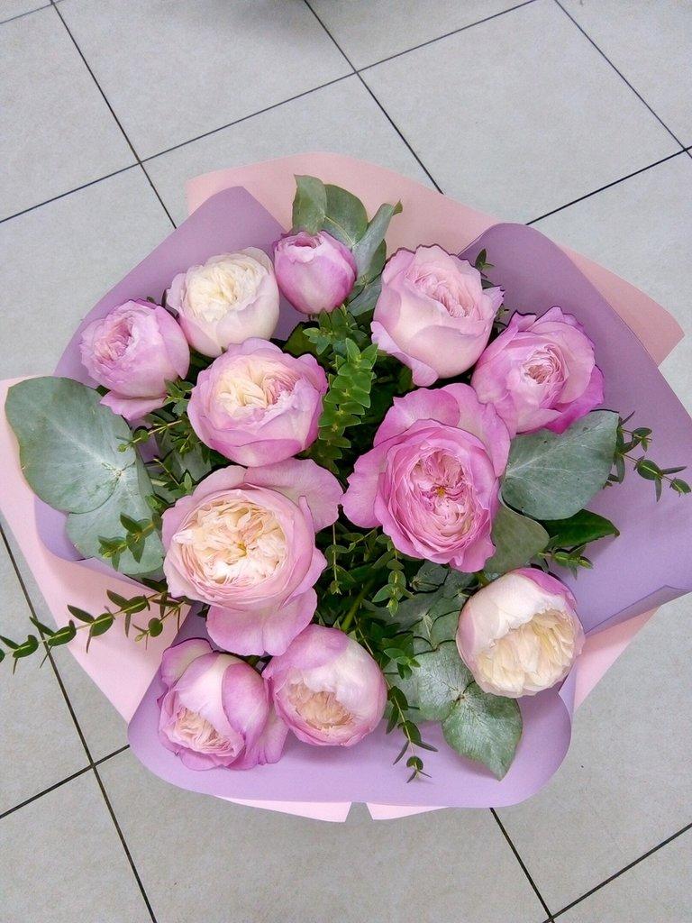 Букеты: Букет из пионов в Николь, магазины цветов
