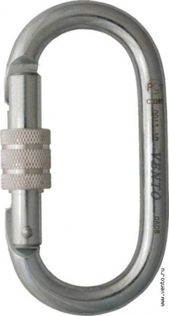 Стальные карабины: «Стальной Овал» с муфтой keylock в Турин