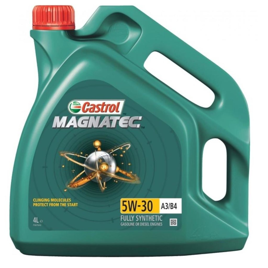 Автомасла Castrol: CASTROL MAGNATEC 5W-40 A3/B4 (4.0 л) в Автомасла71
