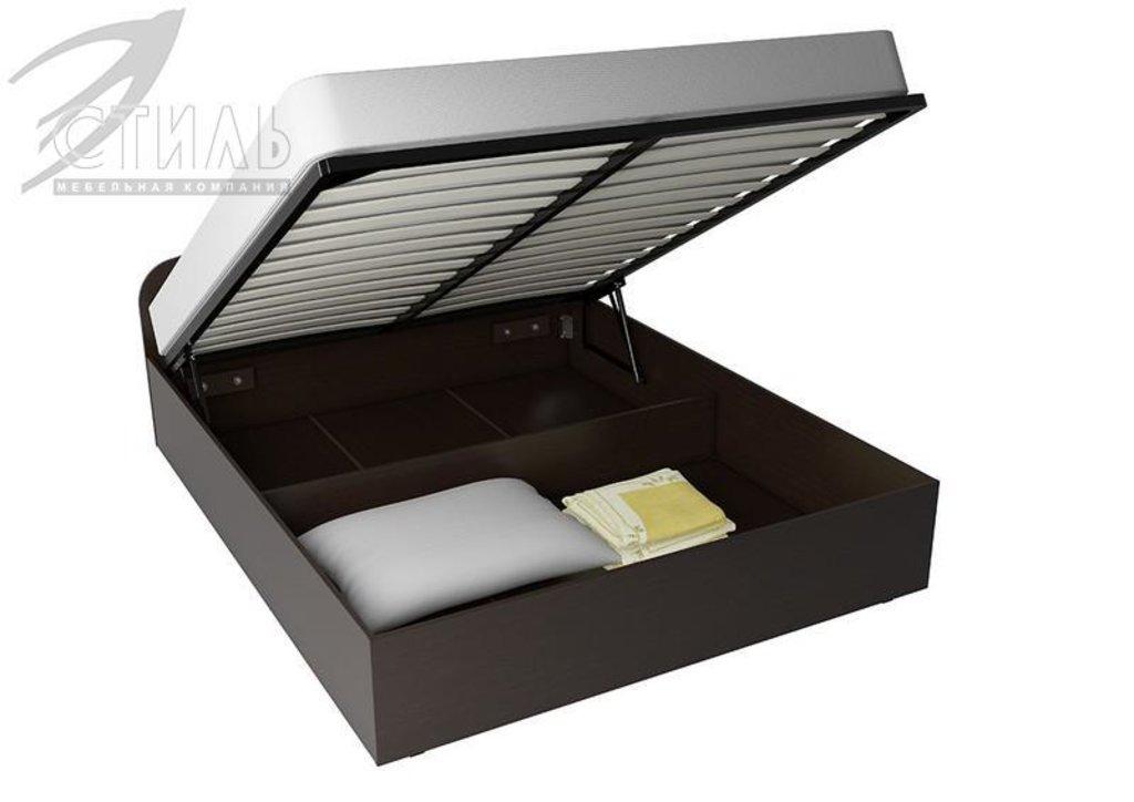Спальни: Кровать ЛДСП (А) с подъемным механизмом в Диван Плюс