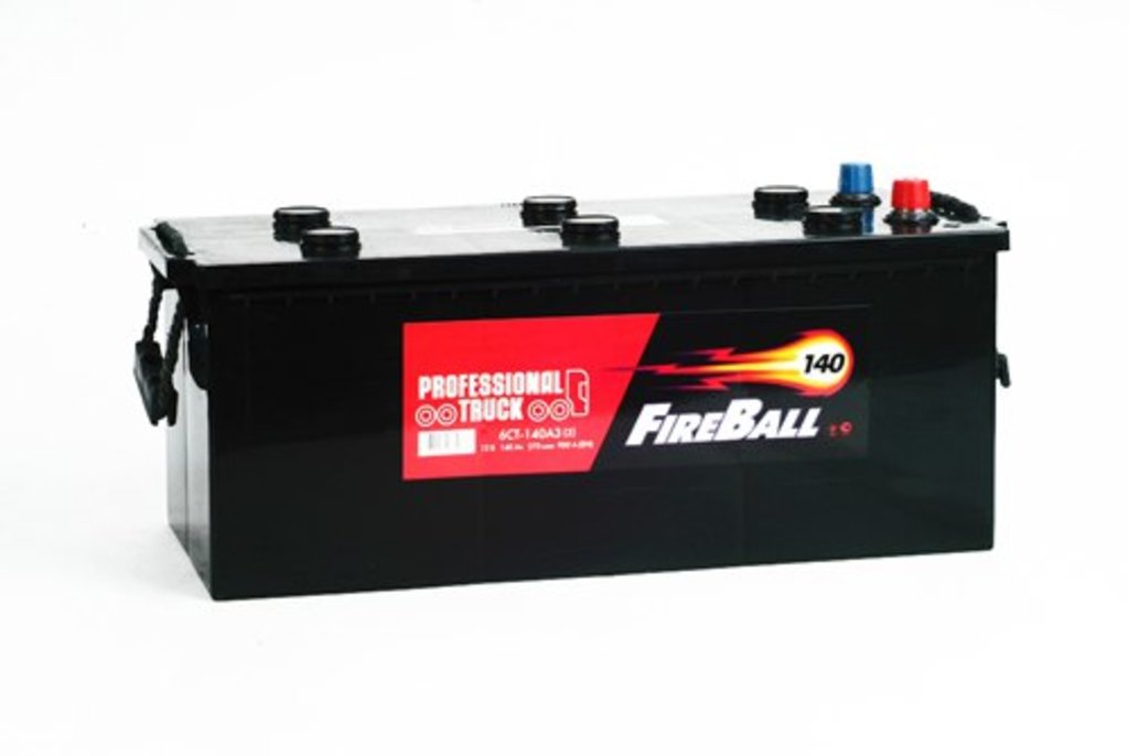 FireBall: Акб FireBall 140 А/ч в БазаАКБ