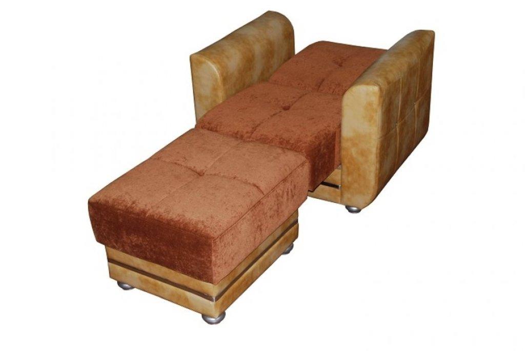 Банкетки и кресла: Кресло и пуф Мадрид в Диван Плюс