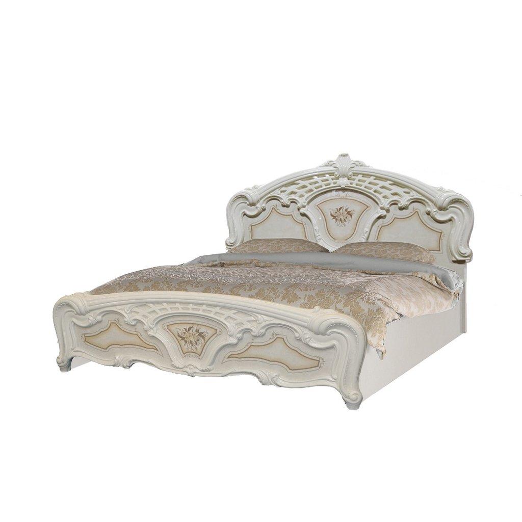 Кровати: Кровать 1,4 м с решеткой Роза в Стильная мебель