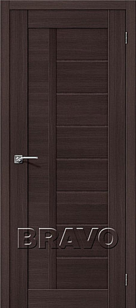 Двери экошпон BRAVO: Порта-26 Wenge Veralinga в STEKLOMASTER