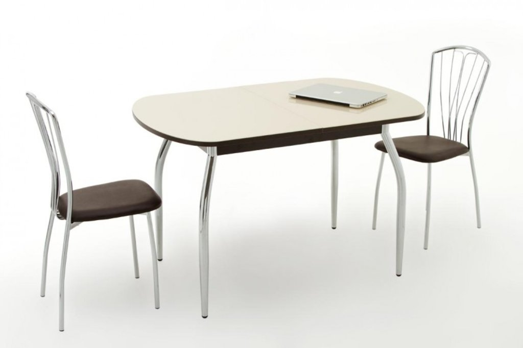Столы кухонные: Стол ПГ-01 раздвижной (хром) в АРТ-МЕБЕЛЬ НН