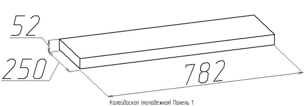 Декоративные панели: Панель 1 Калейдоскоп в Стильная мебель