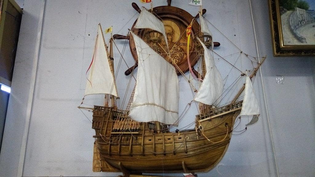 Модели кораблей: Испанская каравелла ХV века в Модели кораблей
