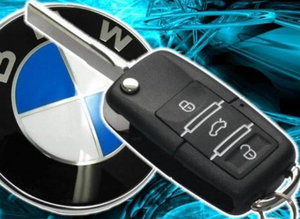 Установка автосигнализаций: Автосигнализация простая на BMW в CLIFFORD