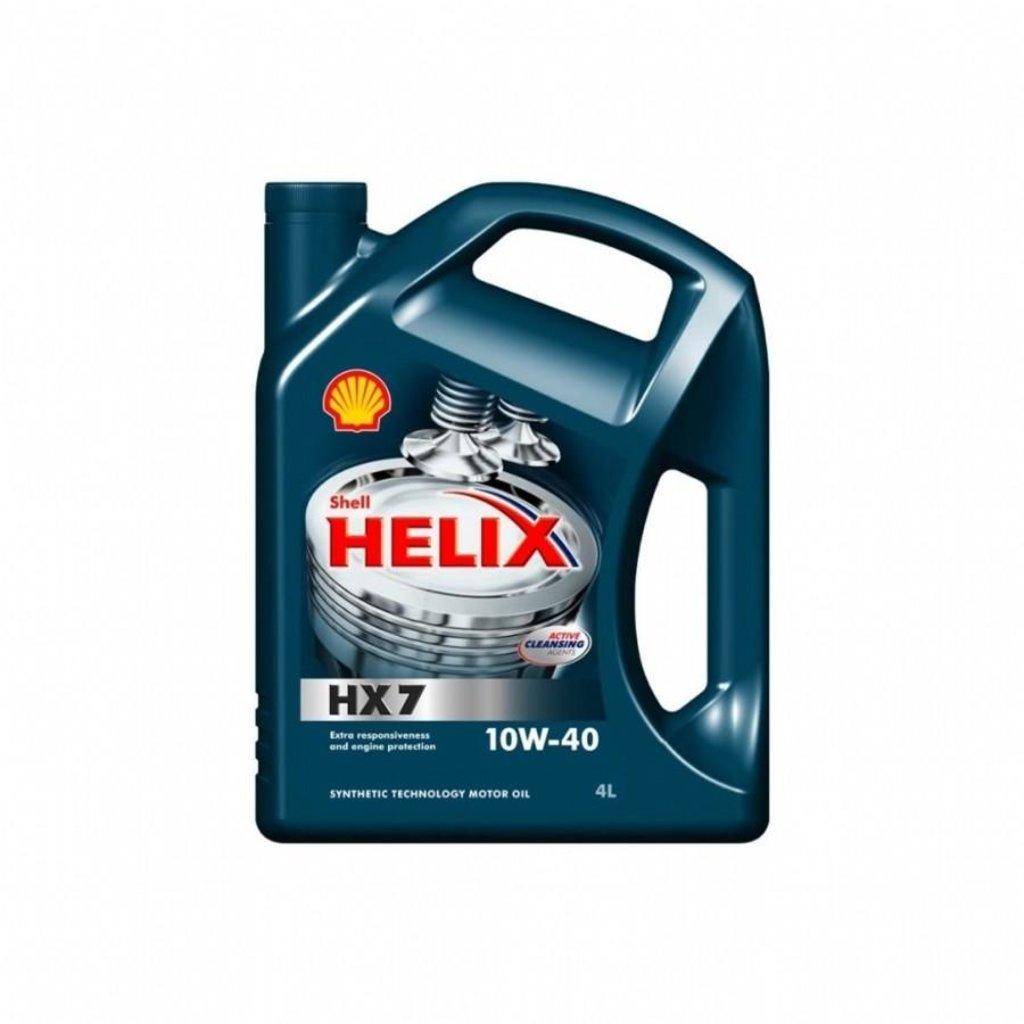 Автомасла Shell: Shell Helix HX7 10W-40 масло (4.0 л) в Автомасла71
