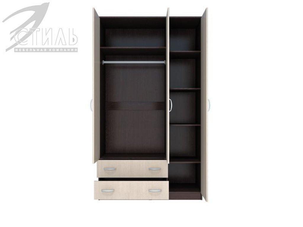 Шкафы: Шкаф Комфорт-10 (Венге / Дуб молочный) в Диван Плюс